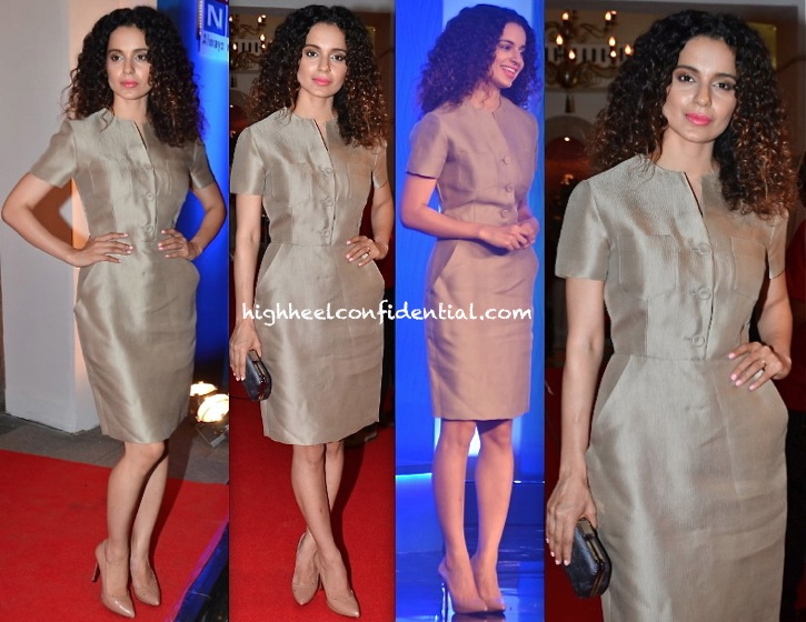 Kangna Ranaut At Times Foodie Awards 2014