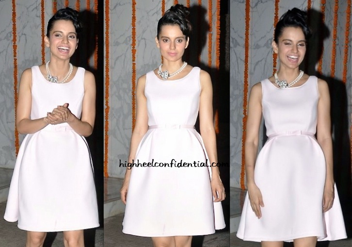 Kangna Ranaut In Dior At Her Birthday Do-1