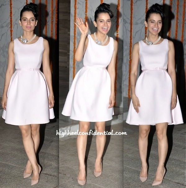 Kangna Ranaut In Dior At Her Birthday Do