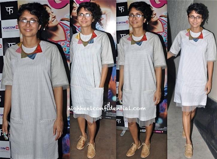 Kiran Rao In Bodice At 'Queen' Screening-2