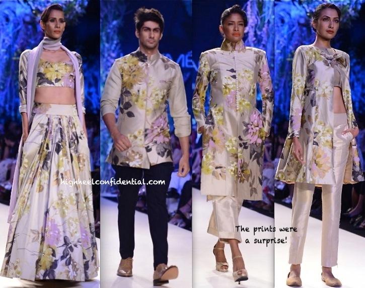 LFW Summer 2014- Manish Malhotra-1-1