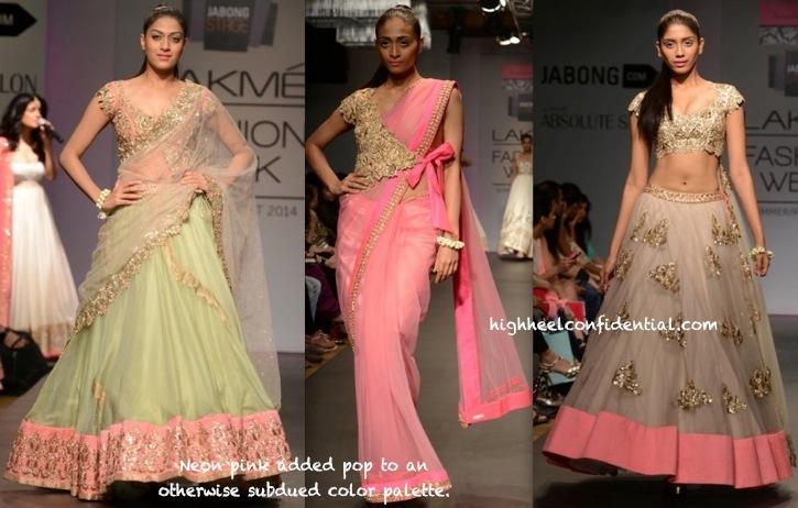 Lakme Fashion Week Summer:Resort 2014- Anushree Reddy-1