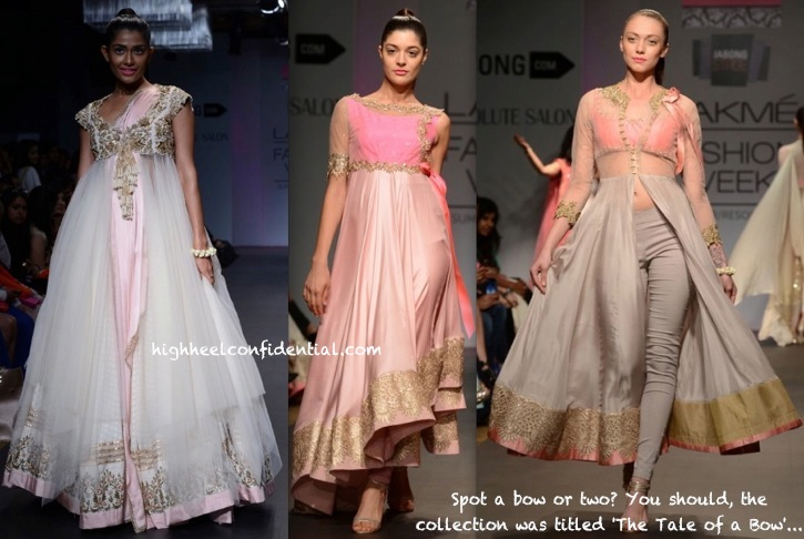 Lakme Fashion Week Summer:Resort 2014- Anushree Reddy-2