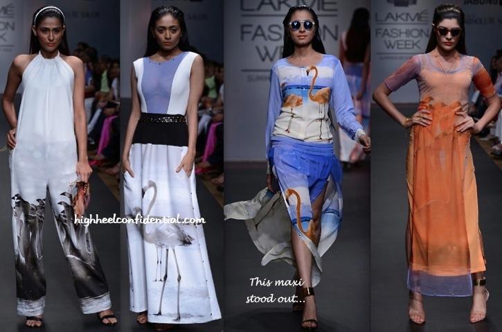 Lakme Fashion Week Summer:Resort 2014- Farah Sanjana-1