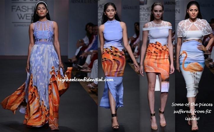 Lakme Fashion Week Summer:Resort 2014- Farah Sanjana