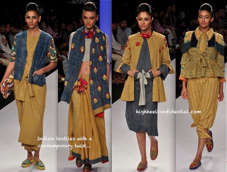 Lakme Fashion Week Summer:Resort 2014- Ka Sha By Karishma Shahani-2
