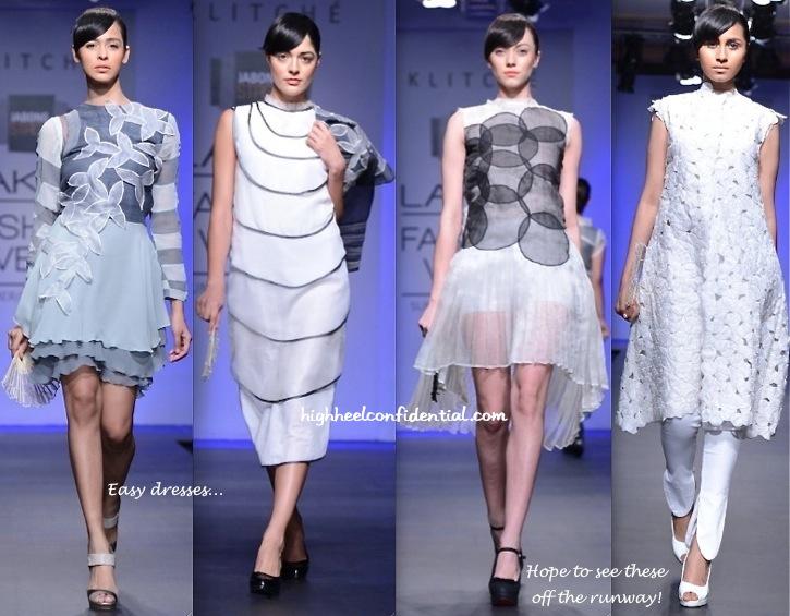 Lakme Fashion Week Summer:Resort 2014- Klitché By Isha Kedia-1