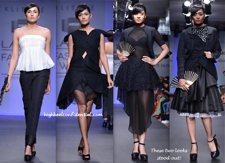 Lakme Fashion Week Summer:Resort 2014- Klitché By Isha Kedia-2