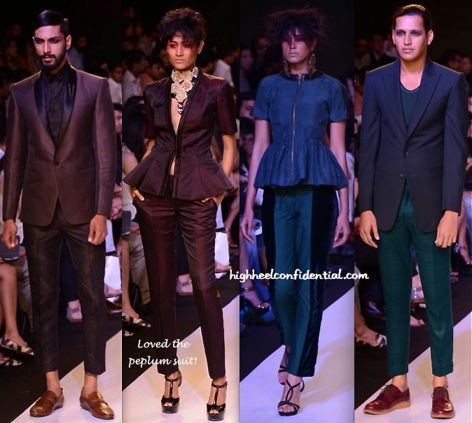 Lakme Fashion Week Summer:Resort 2014- Narendra Kumar-1