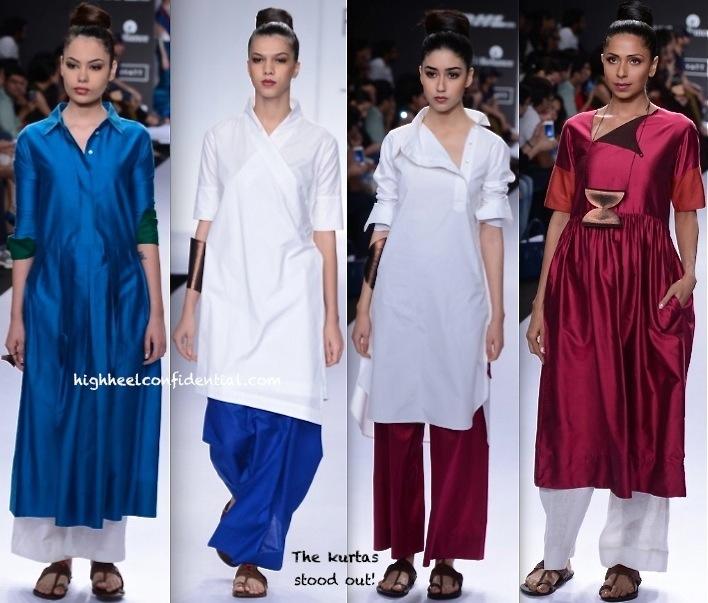 Lakme Fashion Week Summer:Resort 2014- Payal Khandwala-2