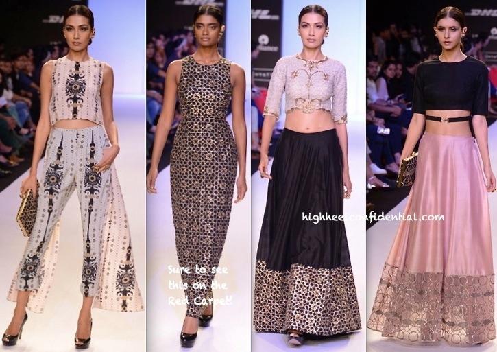 Lakme Fashion Week Summer:Resort 2014- Payal Singhal-1