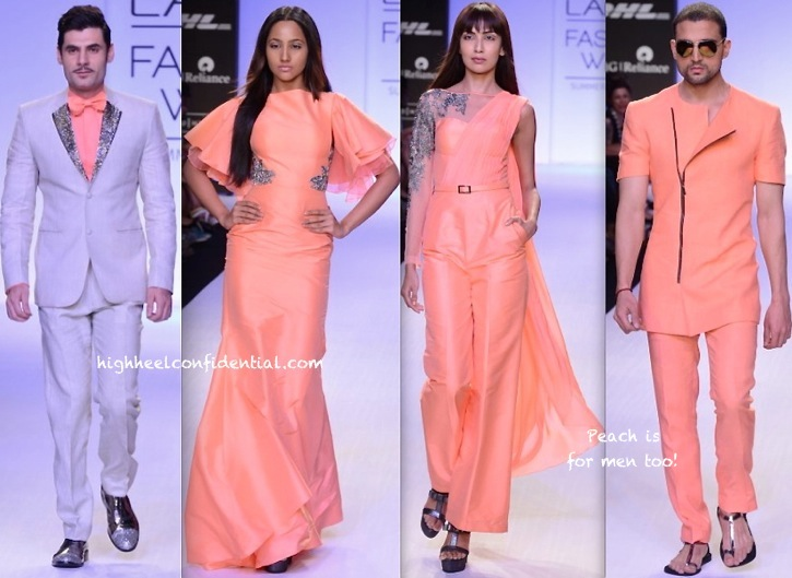Lakme Fashion Week Summer:Resort 2014- Rajat Tangri -1