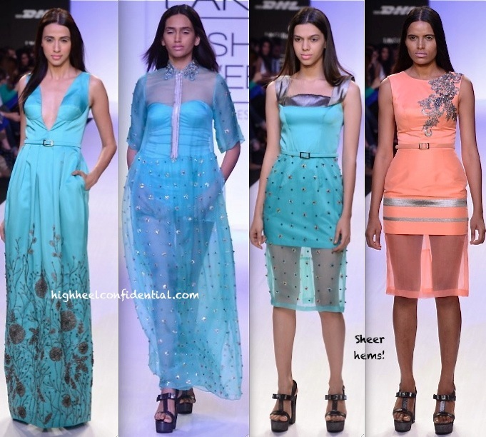 Lakme Fashion Week Summer:Resort 2014- Rajat Tangri -2