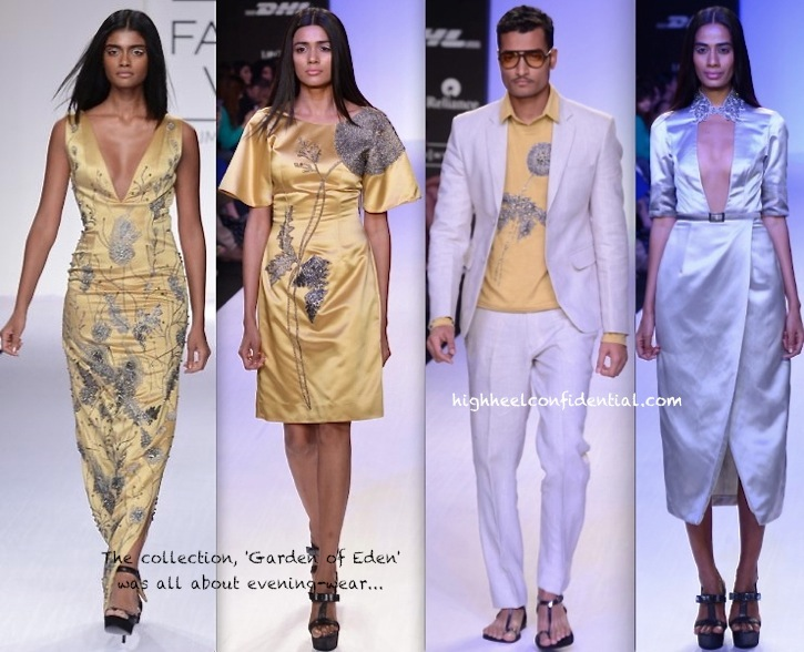 Lakme Fashion Week Summer:Resort 2014- Rajat Tangri -3