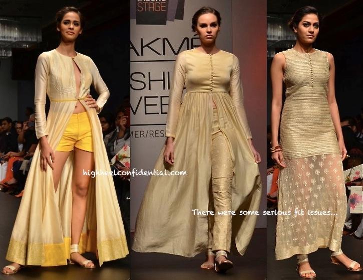 Lakme Fashion Week Summer:Resort 2014- SVA By Sonam & Paras Modi-3