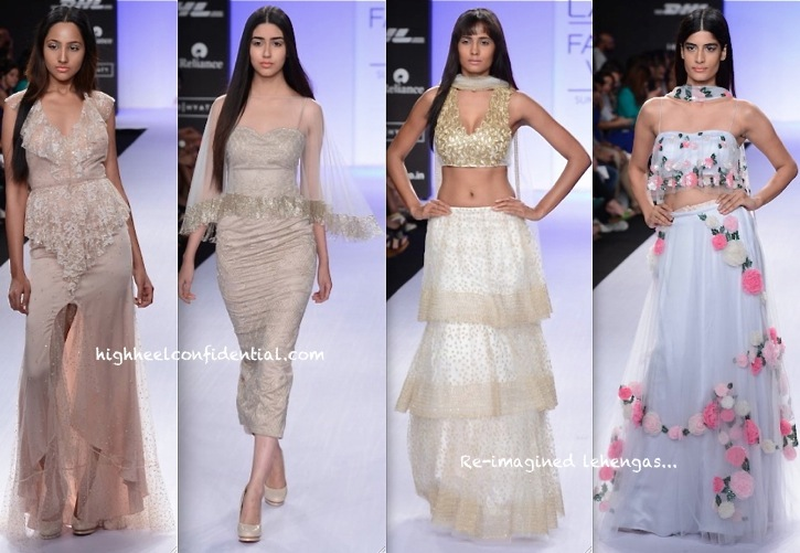 Lakme Fashion Week Summer:Resort 2014- Shehlaa-2