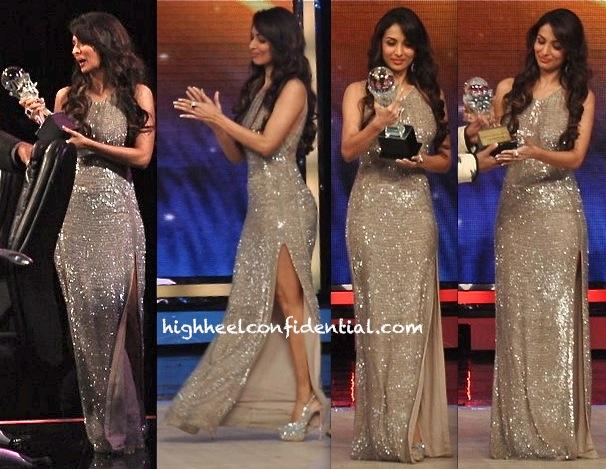 Malaika Arora Khan In Rohit Gandhi + Rahul Khanna On India's Got Talent Sets