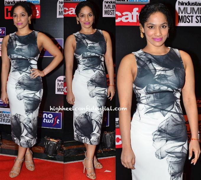 Masaba In Satya Paul Demi Couture At HT Most Stylish Awards 2014