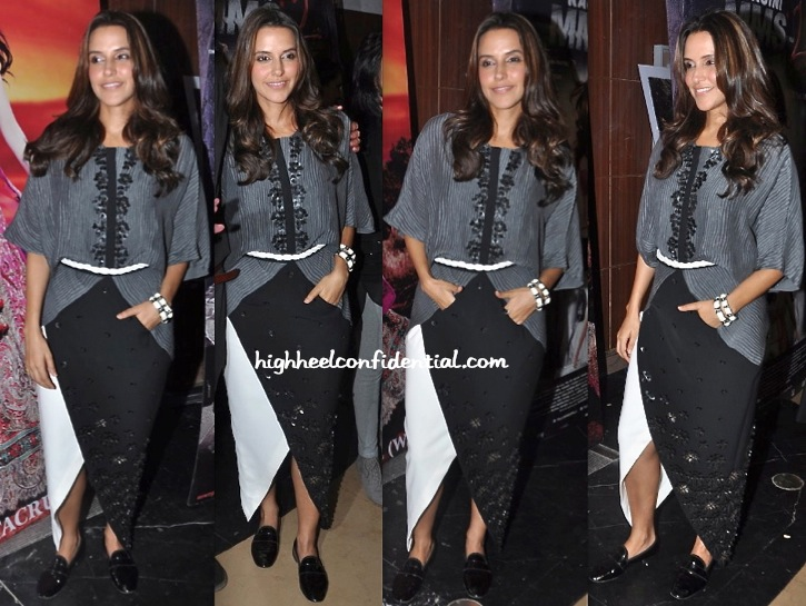Neha Dhupia At 'Ankhon Dekhi' Screening-2