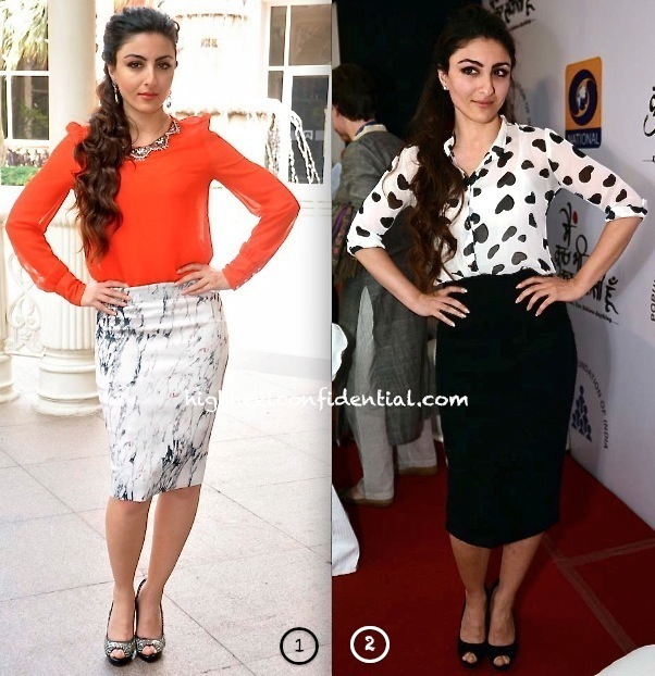 Soha-Ali-Khan-At-A-Spelling-Bee-Event-And-At-A-DD-TV-Serial-Launch