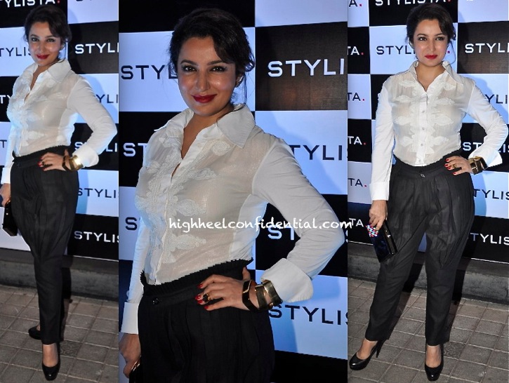 Tisca Chopra At The Stylista Party