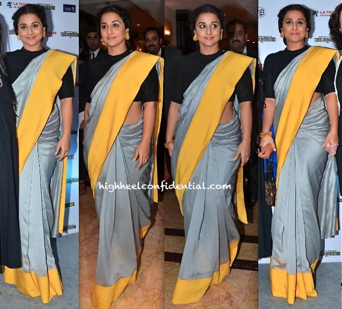 Vidya Balan In Payal Singhal At Indian Film Festival of Melbourne Press Meet-1