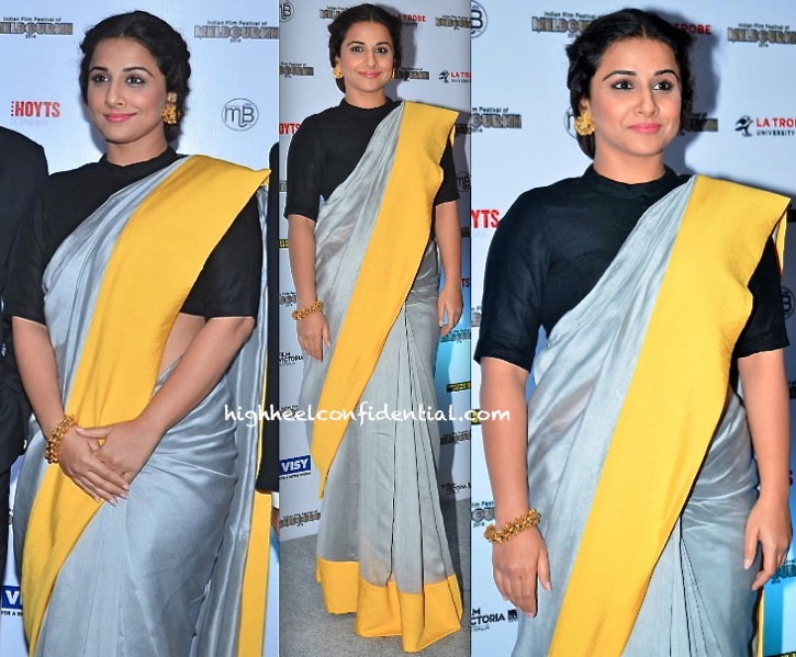 Vidya Balan In Payal Singhal At Indian Film Festival of Melbourne Press Meet-2