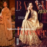 Sonam on Harper's Bazaar Bride: (Un)Covered