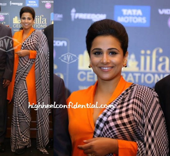 vidya-balan-iifa-2014-press-meet-satya-paul