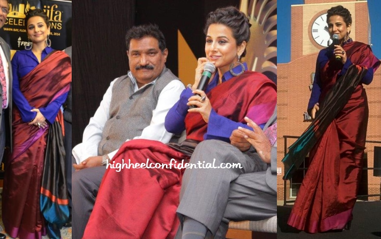 vidya-balan-payal-khandwala-iifa-houston-promotions-2014