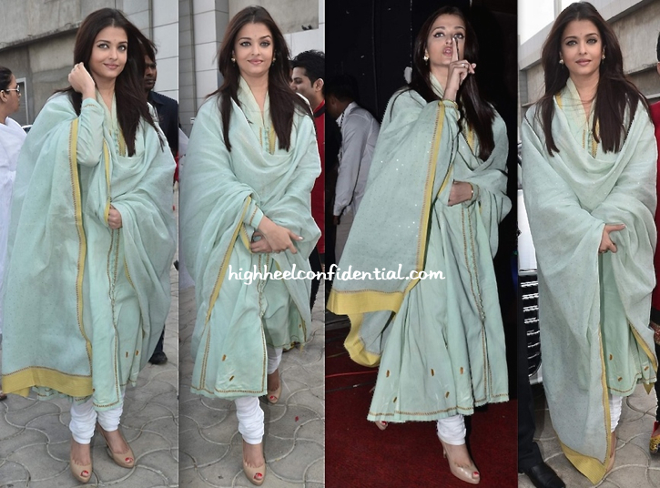 Aishwarya Rai Bachchan Attends Sri Sathya Sai Seva Organisation's Event-1