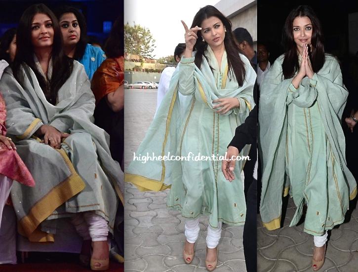 Aishwarya Rai Bachchan Attends Sri Sathya Sai Seva Organisation's Event-2