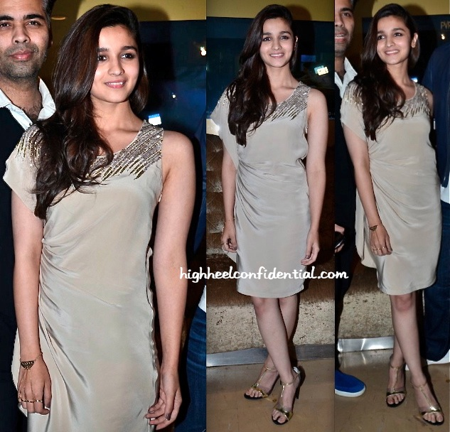 Alia Bhatt At '2 States' Promotions-1