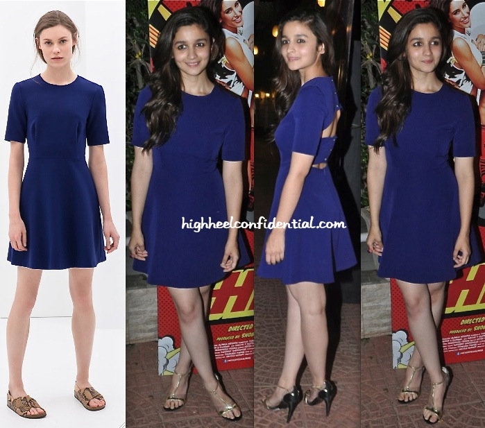Alia Bhatt In Zara At Main Tera Hero Success Party