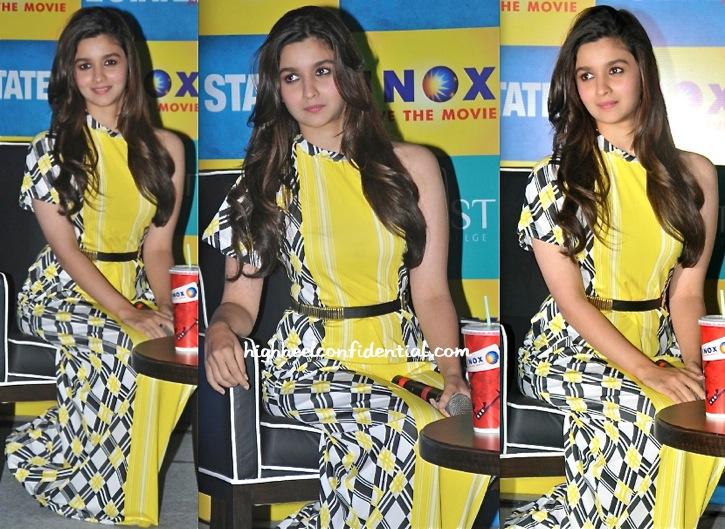 Alia Bhatt Promotes 2 States In Kolkata Wearing Surendri By Yogesh Chaudhary-1