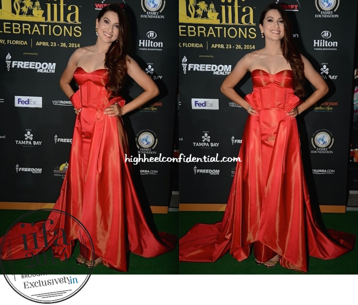Gauahar Khan In Ken Ferns At IIFA 2014-1