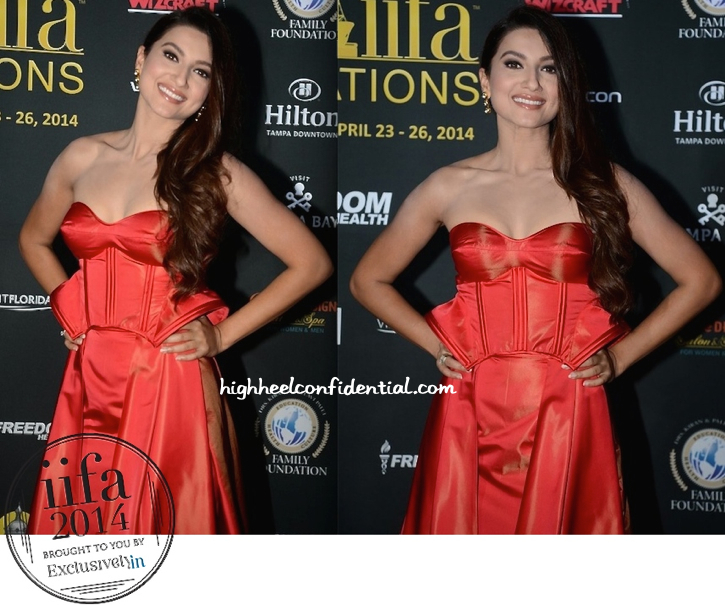 Gauahar Khan In Ken Ferns At IIFA 2014-2