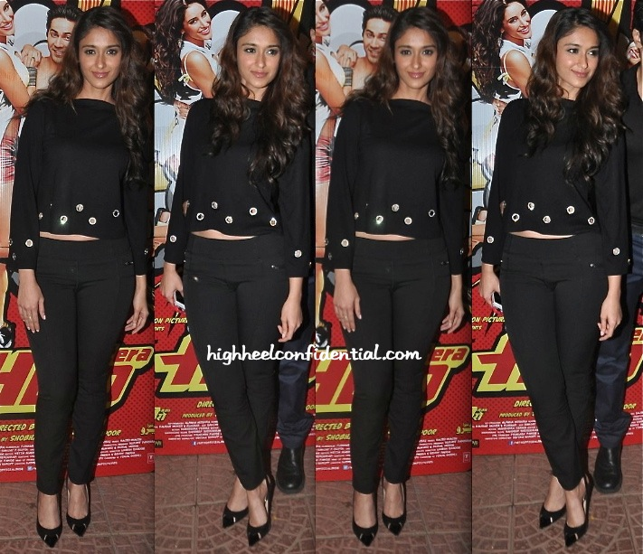 Ileana D'Cruz At At Main Tera Hero Success Party