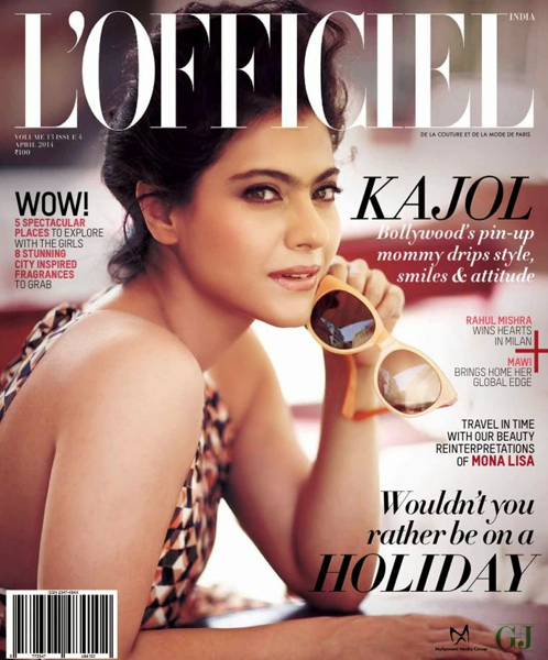 Kajol covers April Issue Of L'Officiel In Saloni-1