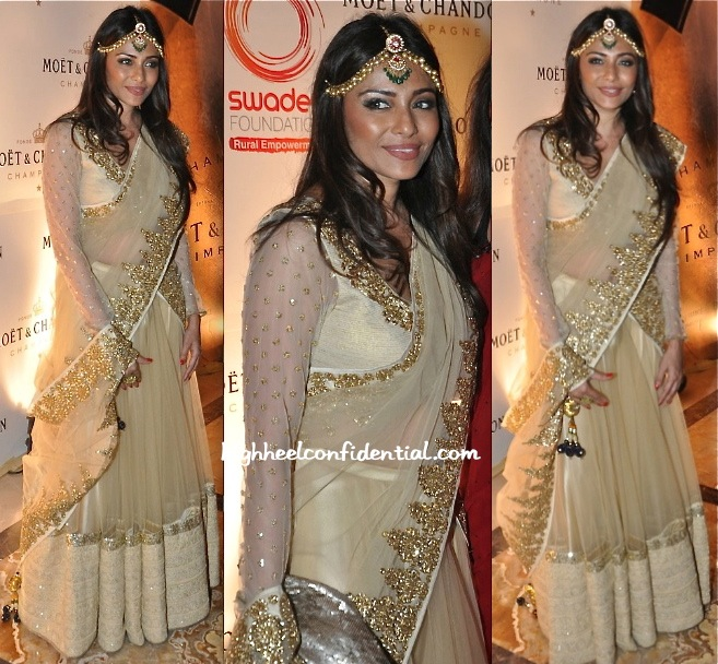 Kalyani Saha In Vikram Phadnis At Swades Foundation Event