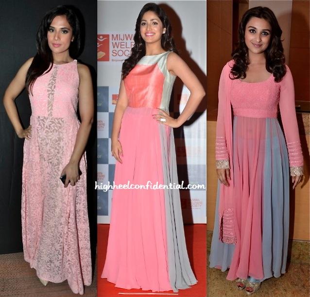 Richa Chadda, Yami Gautam And Parineeti Chopra At Manish Malhotra's Men For Mijwan Show-1