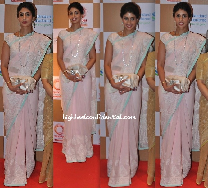 Shweta Bachchan Nanda In Abu Sandeep At Swades Foundation Event