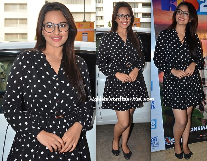 Sonakshi Sinha In Oasis At Rio 2 Screening-1