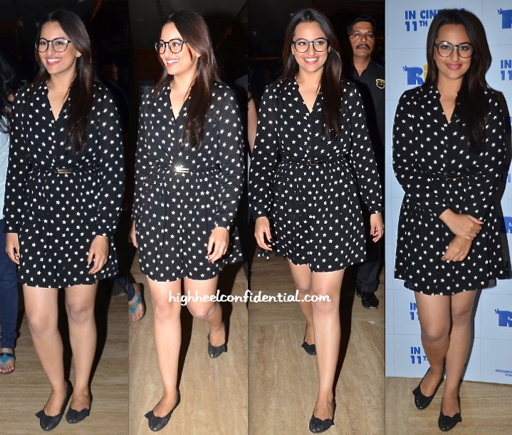 Sonakshi Sinha In Oasis At Rio 2 Screening-2