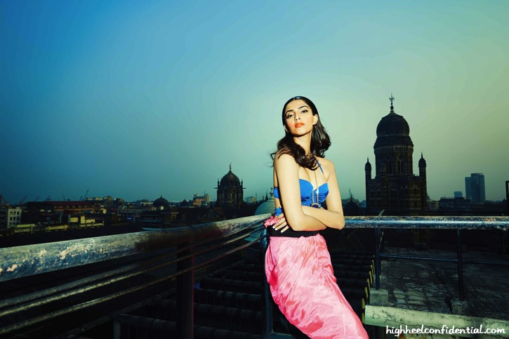 Sonam Kapoor On Grazia's April Issue-4