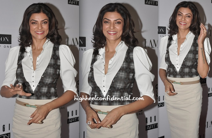 Sushmita Sen At A Luncheon Hosted By Rouble Nagi-2