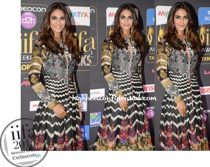 Vaani Kapoor at IIFA Rocks 2014