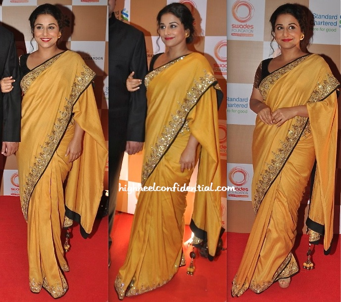 Vidya Balan In Vikram Phadnis At Swades Foundation Event-1