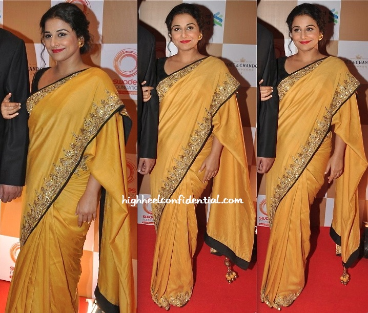 Vidya Balan In Vikram Phadnis At Swades Foundation Event-2