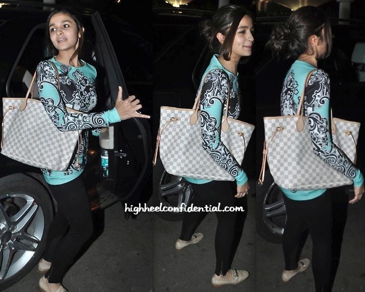 alia bhatt photographed at mumbai airport in pankaj and nidhi